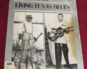 Living Texas Blues - 1985 - Paperback - Alan Govenar - Black blues history