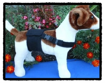 HAPPY JACK WRAP - Male Dog Diaper with Nonslip Adjustable Chest Strap