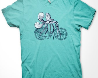 Squidcycle - Mint- Tee shirt