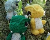 Wee Tiny Dragon Crochet Pattern PDF