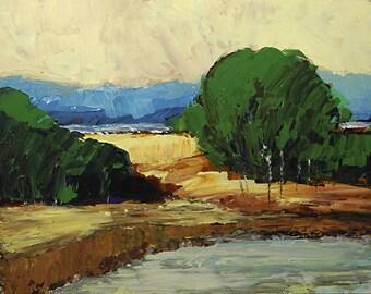 Bobbi Doyle-Maher Original Tonalism Painting Impressionist Southern Landscape