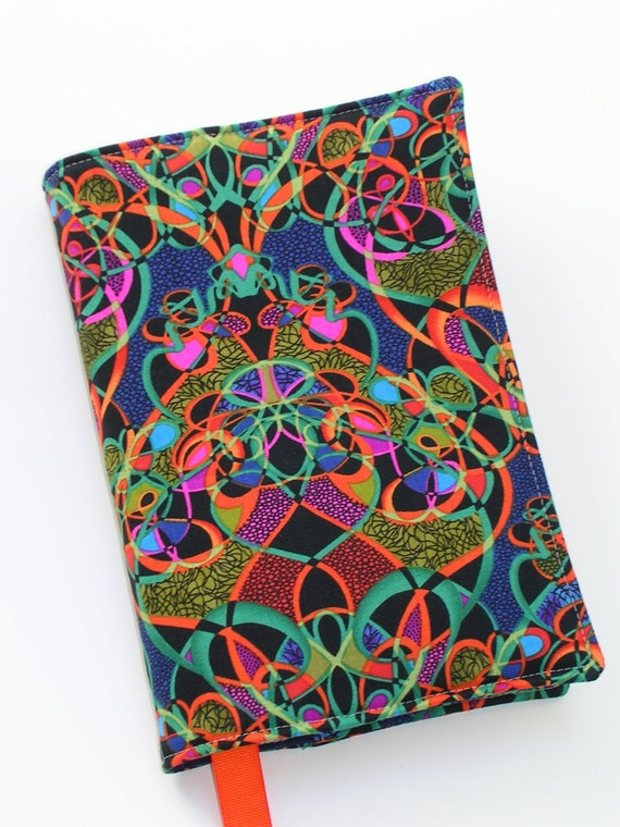 Large Cloth Book Covers : Fabric book cover for large trade size paperback books x