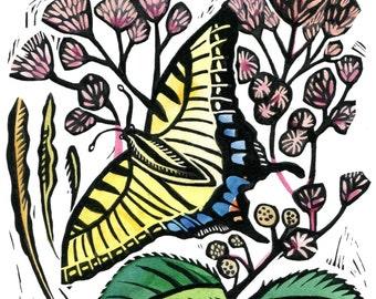 Joe Pye and the Swallowtail