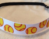 Softball Chevron Headband