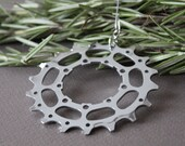 Bicycle Gear Holiday Ornament  |  Gear Ornament  |  Bike Ornament