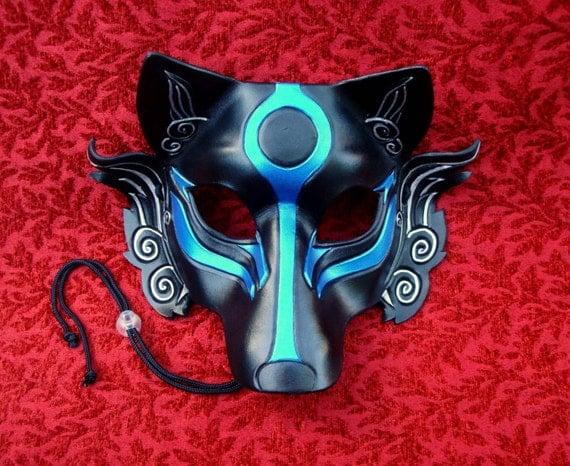 Japanese wolf mask - photo#10