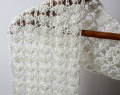 PDF - Lacey Shells - One Skein Scarf Pattern Crochet Instructions