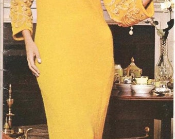 Knit Evening Dress (U15)