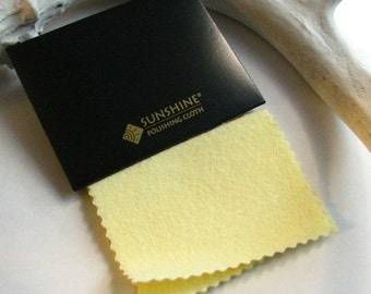 Sunshine Cloth - Tarnish Remover - Jewelry Polishing - Polishing Cloth