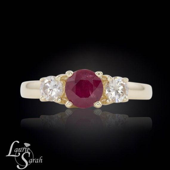 ruby engagement ring ruby promise ring past present future