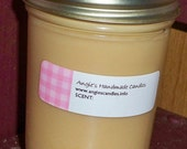 Buy 3 get 1 Free:  8 oz soy candle