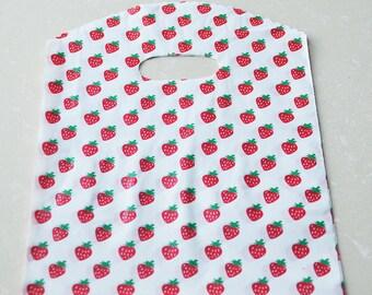 40pcs Strawberry Gift Bags--(24cm x 18cm)