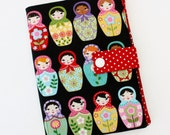 Nesting Dolls Kindle Cover Preppy Matryoshka Print Hardcover for Kindle Paperwhite kindle 4 case