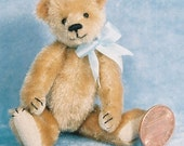 Shaggy - Miniature Teddy Bear Kit - Pattern - by Emily Farmer