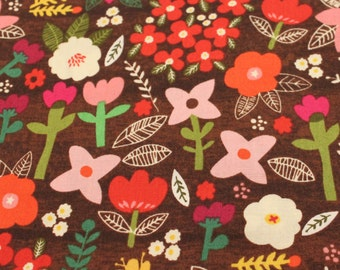 Petit Fleurs 100% Organic Cotton Fabric by Windham Fabrics - 1 Yard