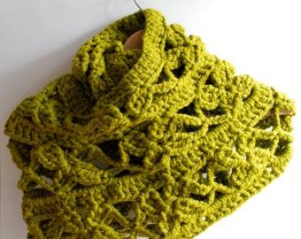 Crochet Cowl, Shawl pattern