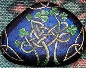 Celtic Clover Knot Stone