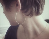 Dew Drop Hoops 2""