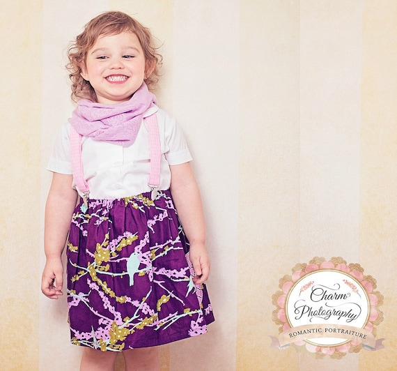 skirt - FREE shipping, SALE, ready to go! 3T bird purple girl baby toddler lilac 3t birthday Chritmas Holiday gift