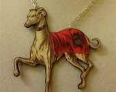 Elegant Greyhound Necklace