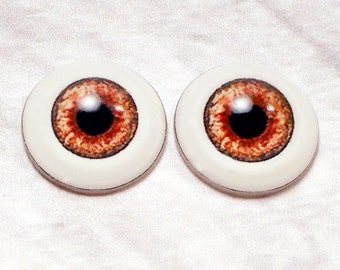 Doll eyes 8mm AD color Sandstone