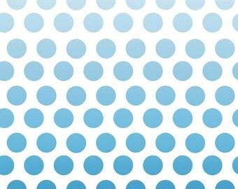 SALE Ombre Navy Dot