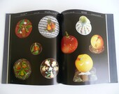 """Vintage BOOK Paperweights """"Flowers which clothe the meadows"""" GLASS Paperweight"""