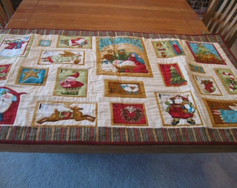 Nancy Halvorsen's Holiday Favorites Quilted Wall Hanging or Tabe Runner