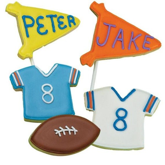 football cookie cutter template - sale football theme cookie cutters 4 pkg make the by