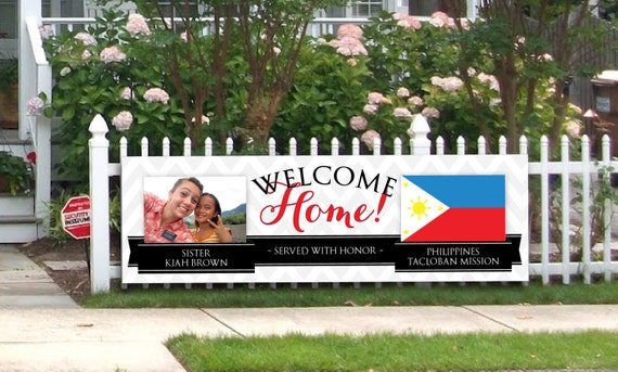 Digital Banner Giant Lds Missionary Farewell Or Welcome Home