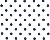 Navy & White Clutch - Bridesmaid Clutch - Polka Dot Clutch - SALE - Custom Clutch - Premier Prints -  Polka Dots in Navy - Bridesmaid Gift