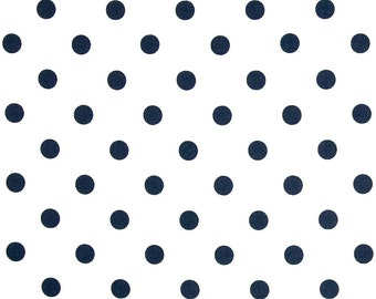Navy & White Clutch - Bridesmaid Clutch - Polka Dot Clutch -  Custom Clutch - Premier Prints -  Polka Dots in Navy - Bridesmaid Gift
