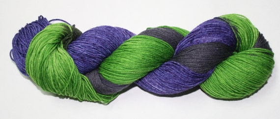 Witchy Poo Hand Dyed Sock Yarn