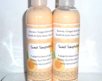 Sweet Temptations Smooth As Satin Hand and Body Lotion 9 Ounce Bottle