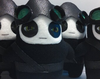 Kids Toys Stuffed Plush Ninja Doll Glum Ninjas Night Vision Force