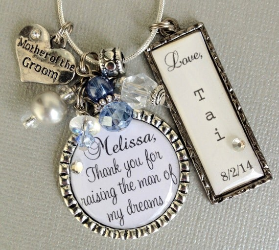 Mother Of Groom Gift Ideas For Bride : MOTHER of the GROOM gift- PERSONALIZED - mother of bride, thank you ...