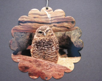 Burrowing Owl Garden Art