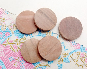 10pcs round wooden bead 30mm W097B