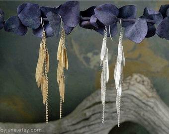 Gold Multi-Leaf Earring | Gold Earrings | Nature Inspired