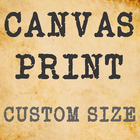 Canvas print, canvas wrap, canvas wall art, framed canvas print, large format, photo on canvas, seaside, carnival, wall art, bomobob