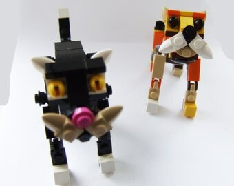 Customizeable LEGO Cat Kit, build your own moggy