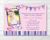 Butterfly Birthday Invita...
