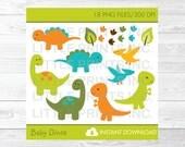 Baby Dinosaur Clipart PER...