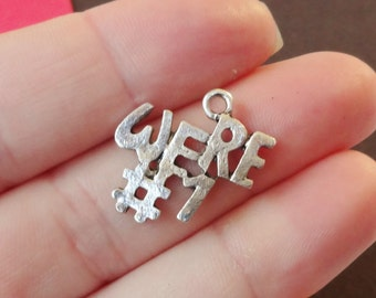 10 We're #1 Charms 18.5x20.5x1.5mm ITEM:J9