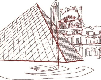 Louvre Digitized Embroidery Design