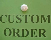 Custom Order MoonFace Pendant