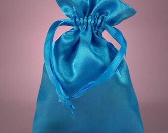 12 Pack  3 X4  inch Satin Drawstring Bags Inch Size Great For Gifts, Favors, Sachets, Weddings