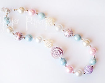 Pastel Color Chunky Necklace
