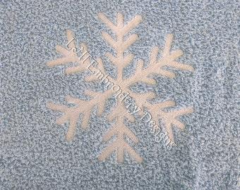 SnowFlakes 33 Embroidery Design - 2 Sizes