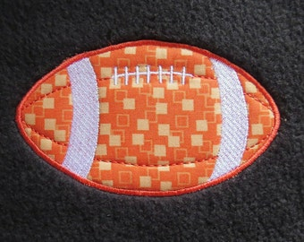 Football Embroidery  Applique Designs - 2 sizes
